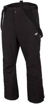 4F, Spodnie narciarskie, H4Z19-SPMN010 20S, czarne, rozmiar L-4F