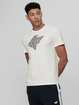 4F, T-shirt męski, H4L21-TSM010 11S, rozmiar M-4F