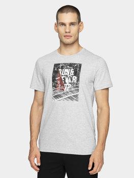 4F, T-shirt męski, H4Z20-TSM023 27M, rozmiar L-4F