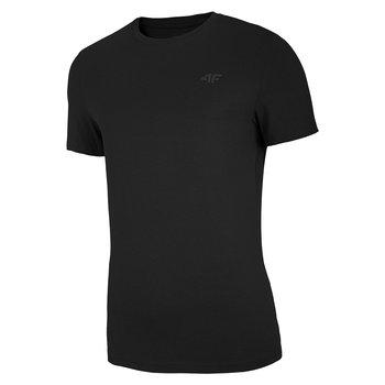 4F, T-Shirt męski, NOSH4-TSM003 20S, czarny, rozmiar XXL-4F