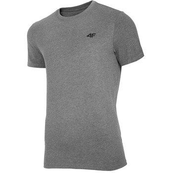 4F, T-Shirt męski, NOSH4-TSM003 24M, grafitowy, rozmiar XL-4F