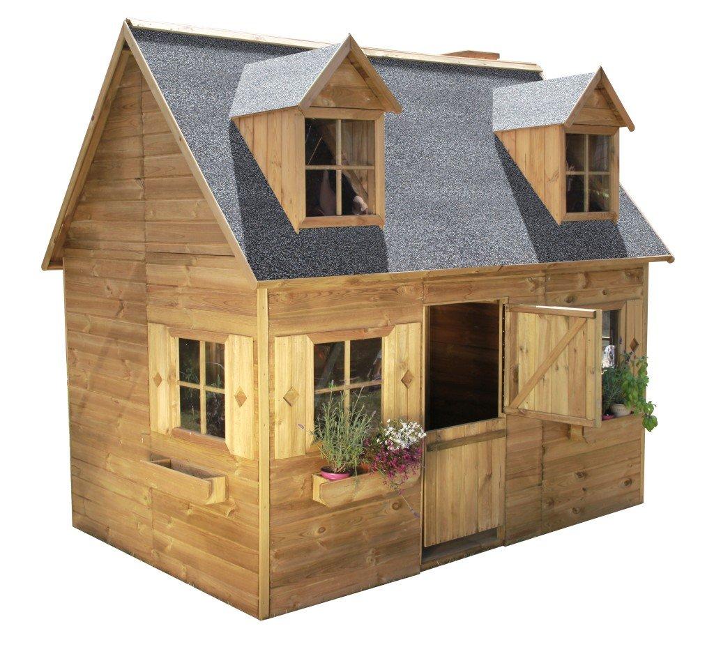 4iQ Group, piętrowy domek ogrodowy Maria - 4iQ Group