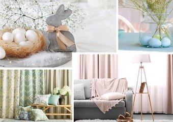 5 pomysłów, dzięki którym odmienisz mieszkanie na wiosnę i Wielkanoc