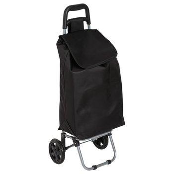 5five Simply Smart, torba na kółkach, czarny, 40 l-5five Simple Smart