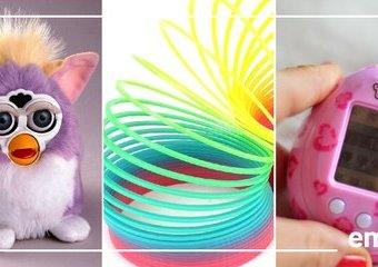 9 kultowych zabawek z naszego dzieciństwa