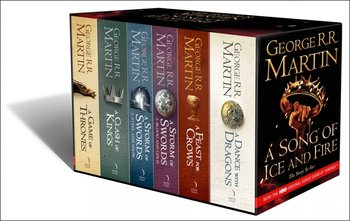 A Game of Thrones: The Story Continues. 6 Volumes Boxed Set-Martin George R. R.