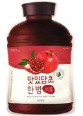 A'Pieu, Fruit Vinegar, nawilżająco-wygładzająca maseczka w płachcie Pomegranate, 25 g-A'Pieu