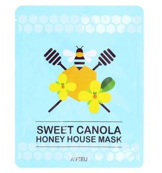 A'Pieu, Honey House, ujędrniająco-nawilżająca maseczka w płachcie Sweet Canola, 23 g-A'Pieu