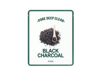 A'Pieu, maseczka w płachcie Black Charcoal, 15 g-A'Pieu
