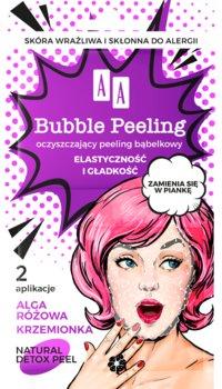 AA BUBBLE PEELING Bąbelkowy peeling Elastyczność+gładkość 8 ml-AA