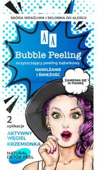 AA BUBBLE PEELING Bąbelkowy peeling Nawilżanie+świeżość 8 ml-AA