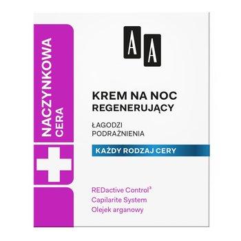 AA, Cera Naczynkowa, regenerujący krem na noc 50ml-AA