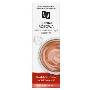 AA, Color Detox Glinka Różowa, maska wyrównująca koloryt do każdego rodzaju cery, 30 ml-AA