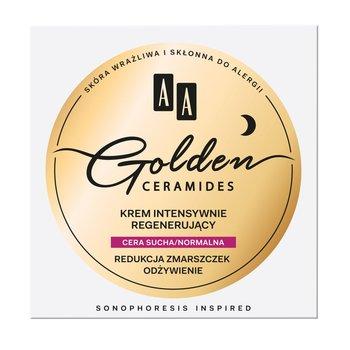 AA, Golden Ceramides, krem intensywnie regenerujący do cery suchej i normalnej, 50 ml-AA