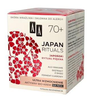 AA, Japan Rituals 70+, aktywny bio-krem na noc, 50 ml-AA