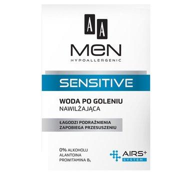 AA, Men Sensitive, woda po goleniu nawilżająca, 100 ml-AA