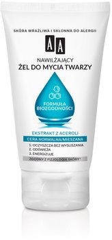 AA, nawilżający żel do mycia twarzy Formuła Biozgodności, cera normalna, 150 ml-AA