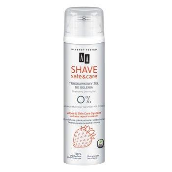 AA, Shave Safe&Care żel do golenia Strawberry 200ml-AA
