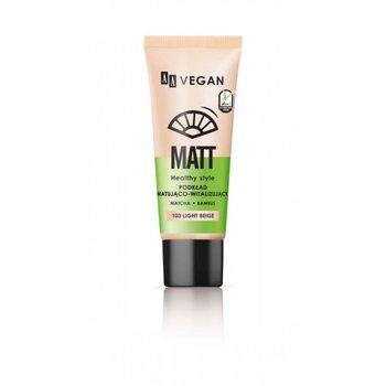 AA, Vegan Matt, podkład matująco-witalizujący 103 Light Beige, 30 ml-AA