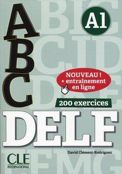 Abc Delf A1 książka + klucz + CD-Clement-Rodriguez David