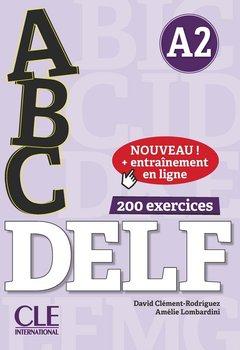 ABC Delf. Niveau A2. Livre + CD + Entrainement en ligne-Clement-Rodriguez David, Lombardini Amelie