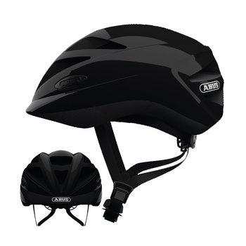 ABUS, Kask dziecięcy rowerowy, HUBBLE 1.1, czarny, rozmiar M-ABUS