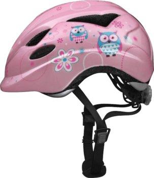 Abus, Kask rowerowy dziecięcy, Anuky, różowy, rozmiar M-ABUS
