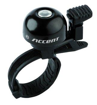Accent, Dzwonek rowerowy, Ding, czarny -Accent
