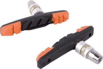 Accent, Klocki hamulcowe V-Brake 3-Function, czarno-pomarańczowe-Accent