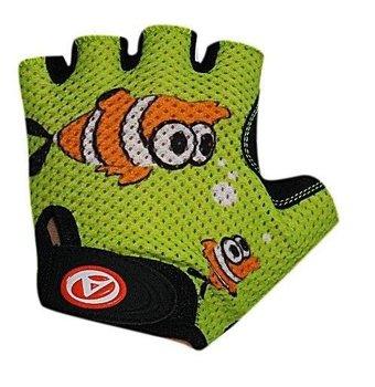 Accent, Rękawiczki kolarskie dziecięce, Fish, rozmiar M-Accent
