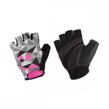 Accent, Rękawiczki rowerowe, Mosaic, czarno-szare, rozmiar L-Accent