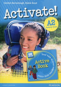 Activate A2 Student's Book + Active Book KET-Gaynor Suzanne