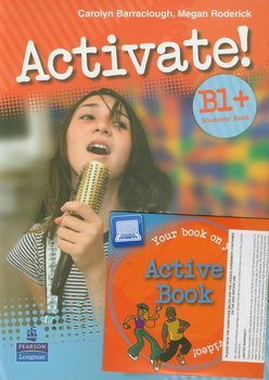 Activate B1. Student's Book plus Active Book z płytą CD - Barraclough Carolyn, Roderick Megan