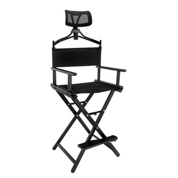Active Shop, krzesło do makijażu czarne, 1 szt.-Active Shop