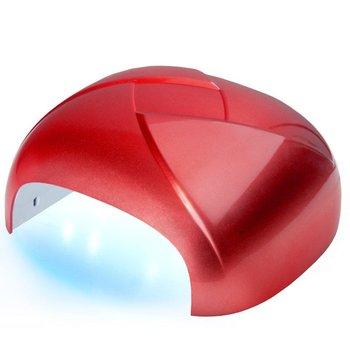 Active Shop, lampa do paznokci Twister UV Dual LED 36W Timer + Sensor Czerwona, 1 szt.-Active Shop