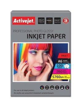 Activejet, AP6-260GR100, papier fotograficzny A6-ActiveJet