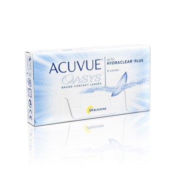 Acuvue, Oasys, soczewki dwutygodniowe +1.00 krzywizna 8,4, 6 szt.-Acuvue