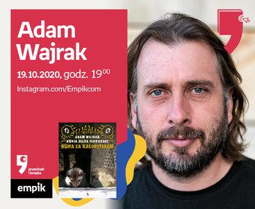 Adam Wajrak – Spotkanie | Wirtualne Targi Książki. Przecinek i Kropka