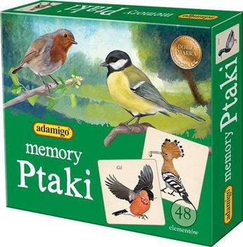 Adamigo, gra rodzinna Memory ptaki-Adamigo