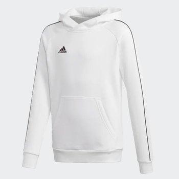 Adidas, Bluza dziecięca, CORE 18 Y Hoody FS1891, biały, rozmiar 164-Adidas