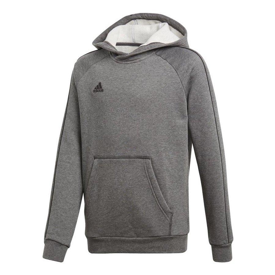 Adidas, Bluza dziecięca, Core18 Y Hoody, szary, rozmiar 116