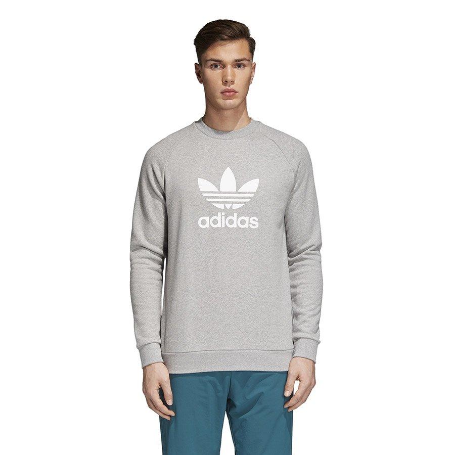 Adidas, Bluza męska, Originals Trefoil Crew CY4573, szary, rozmiar M
