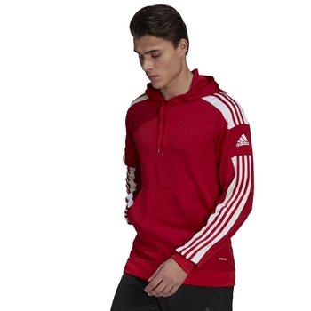 Adidas, Bluza, Squadra 21 Hoody GP6435, czerwony, rozmiar XXL -Adidas