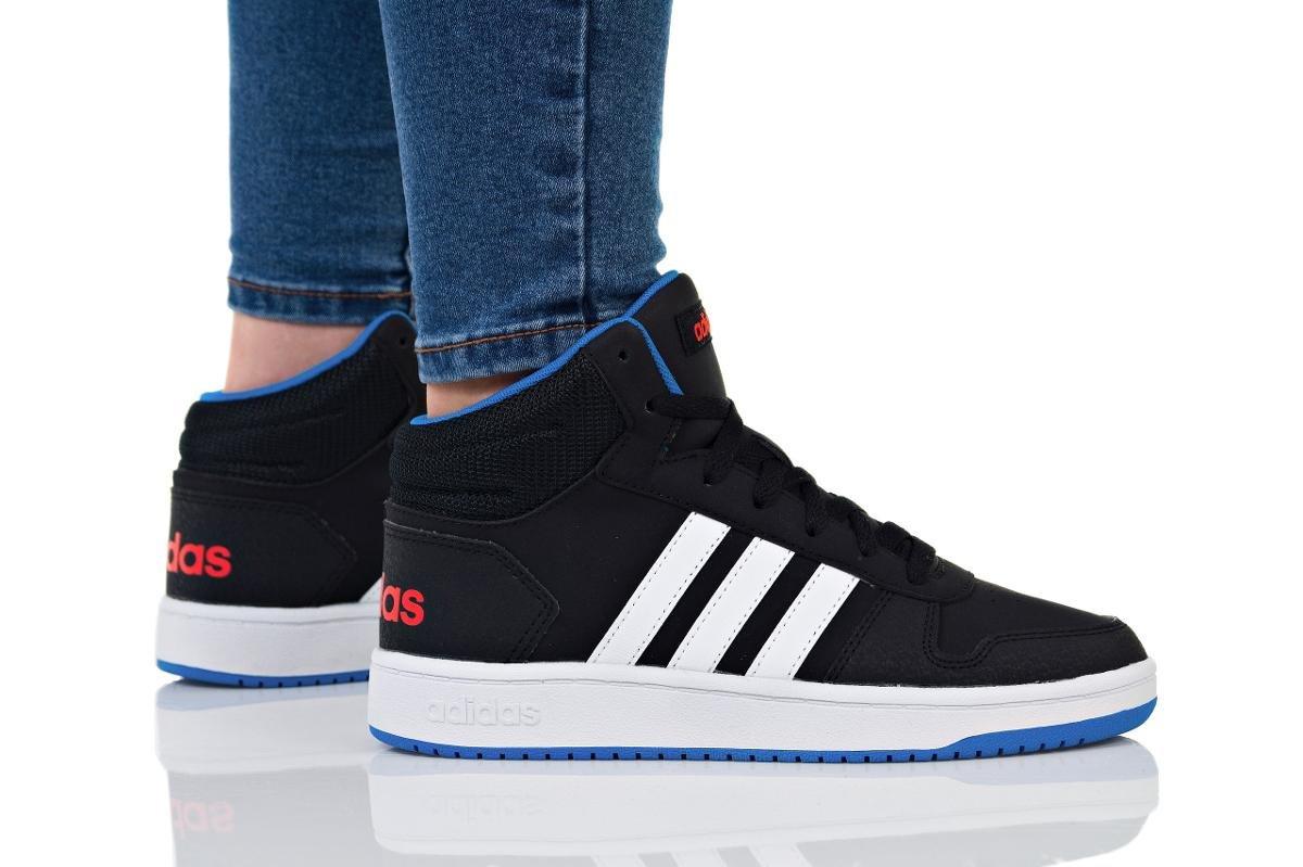 Moda Buty Dziecięce Adidas Hoops Mid K