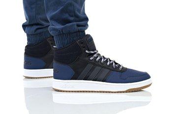 Adidas, buty męskie, Hoops 2.0 Mid, czarny, rozmiar 44