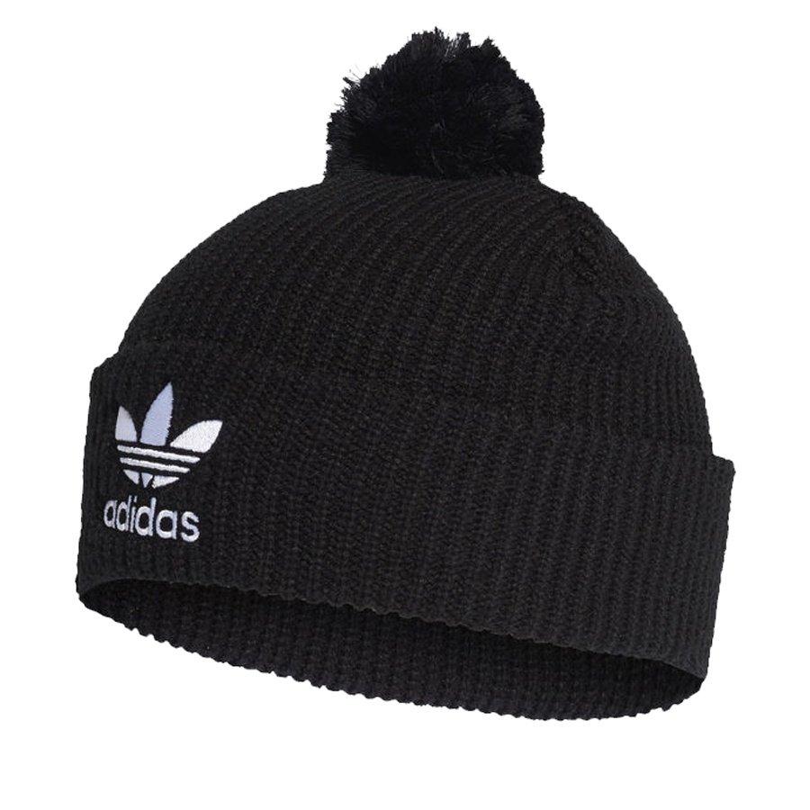 Adidas, Czapka, Originals Beanie Pompon D98942, czarna