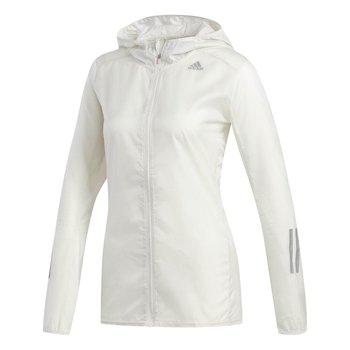 Adidas, Kurtka do biegania damska, RESPONSE JACKET / DX1526, biały, rozmiar XS-Adidas
