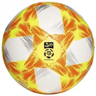 Adidas, Piłka nożna, Conext 19 TCPT Ekstraklasa biała ED4934, rozmiar 5-Adidas