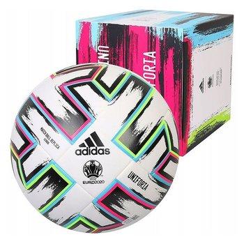 Adidas, Piłka nożna, Mistrzostwa Europy 2020, Uniforia LEAGUE X-MAS, biały, rozmiar 5-Adidas