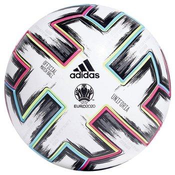 Adidas, Piłka nożna, Mistrzostwa Europy 2020, Uniforia PRO, biały, rozmiar 5-Adidas